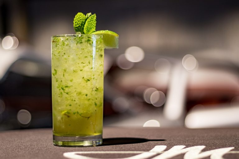 drink, cocktail, mojito